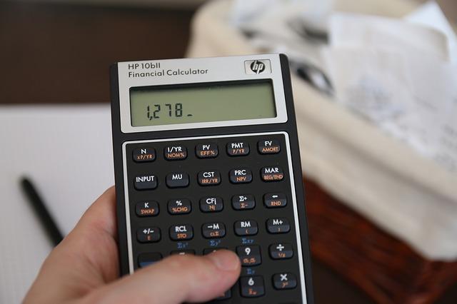 Włączony kalkulator
