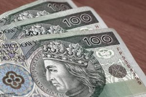 Banknoty pieniędzy